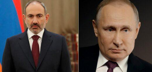 Pashinyan Putin